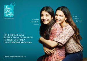 Deepika Padukone founded Live Love Laugh Foundation