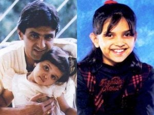 Deepika Padukone childhood photo
