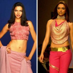 Deepika Padukone during modelling days