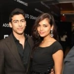 Esha Gupta with Armaan Gujral