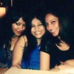 Bipasha Basu with her sisters