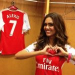 Esha Gupta, a huge fan of Arsenal