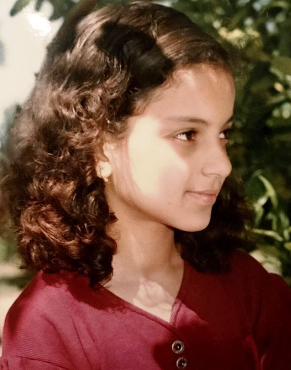 Kangana Ranaut Teenage Photo
