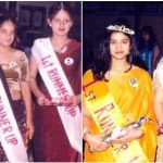 Kangana Ranaut in college beauty competitions