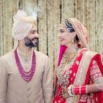 Anand Ahuja and Sonam Kapoor Wedding Picture