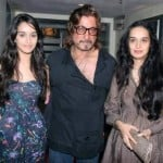 Shraddha Kapoor with her father Shakti Kapoor
