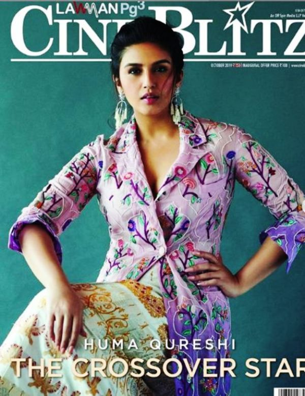 Huma Qureshi Featured on the Cover of Cine Blitz