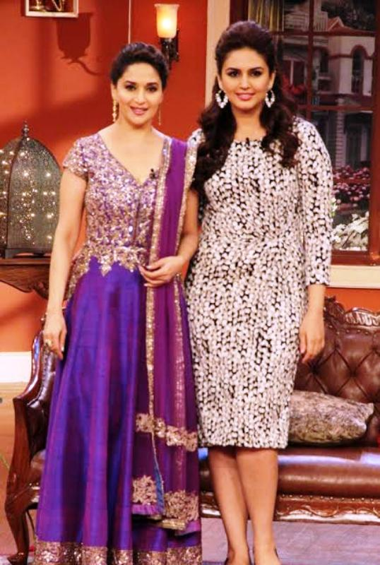 Huma Qureshi in Comedy Nights with Kapil