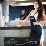 Jacqueline Fernandez restaurant Kaema Sutra in Sri Lanka