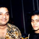 Kajol with her father Shomu Mukherjee