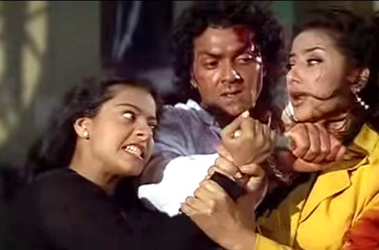 Kajol's Negative Role In Gupt