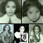 Madhuri Dixit childhood pics