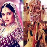 Madhuri Dixit in the song Kahe Ched Ched Mohe