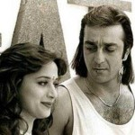 Sanjay Dutt with His Ex-Girlfriend Madhuri Dixit