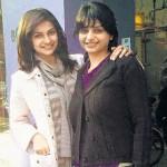 Prachi Desai with her sister Esha Desai