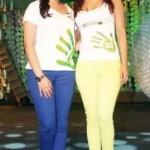 Priyanka Chopra with her cousin sister Parineeti Chopra