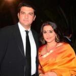 Vidya Balan with her husband Siddharth Roy Kapur