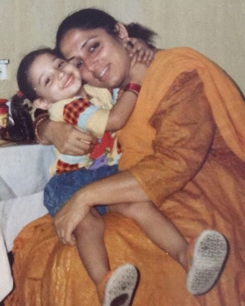 Tamannaah Bhatia's childhood picture