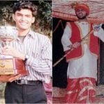 Kapil Sharma in younger days
