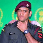 MS Dhoni Lt Colonel Indian Territorial Army
