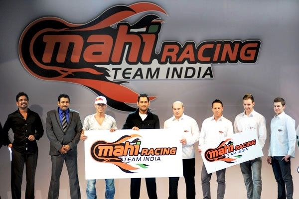 MS Dhoni's Mahi Racing Team India