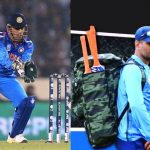 MS Dhoni camouflage clothes and accessories