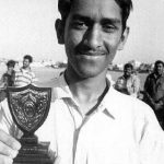 MS Dhoni in younger days