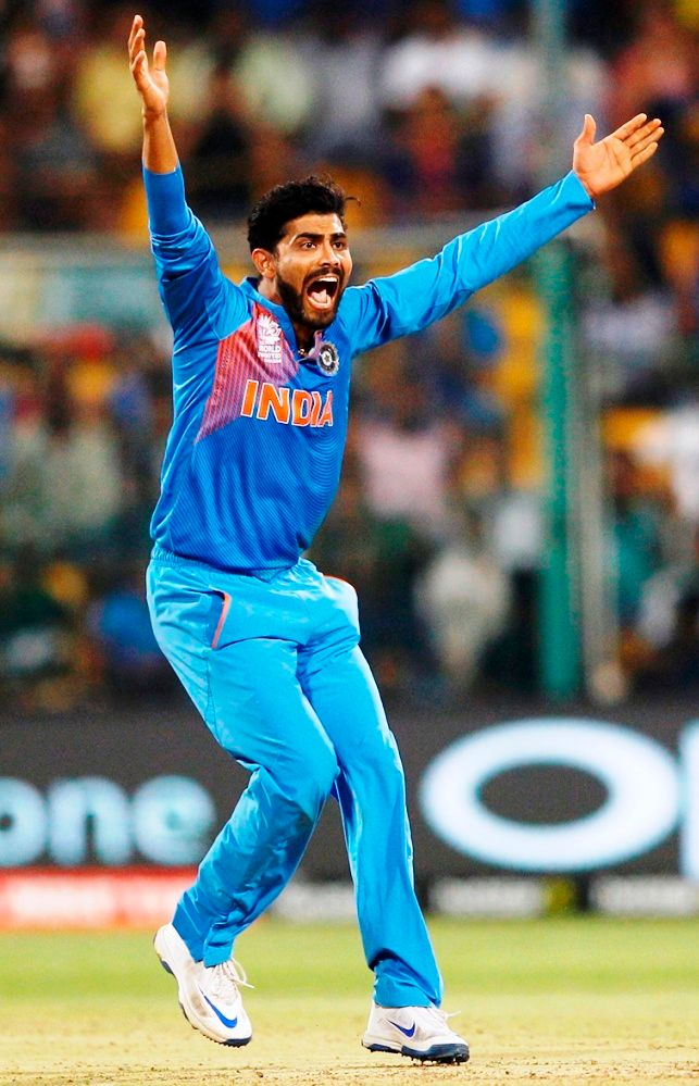 Ravindra Jadeja Height, Weight, Age, Wife, Children ...