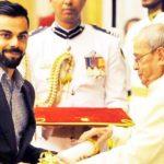 Virat Kohli Padma Shri Award