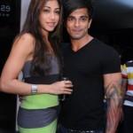 Karan Singh Grover with Nicole Alvares