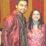 Virat Kohli with his sister