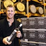 David Warner - 666 Pure Tasmanian Vodka
