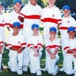 David Warner in school days