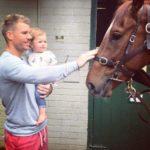 David Warner love for horses