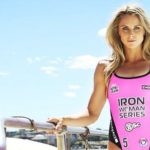 David Warner wife Candice Falzon - Ironwoman