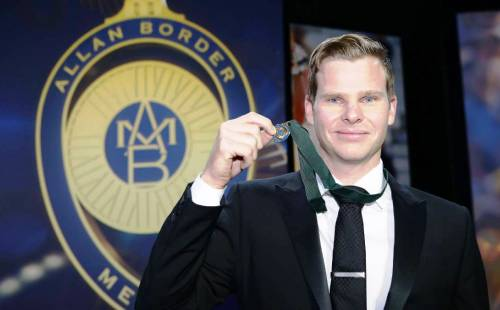 Steve Smith Allan Border Medal