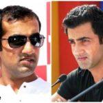 Gautam Gambhir before and after hair transplant