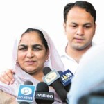 Virender Sehwag younger brother Vinod and his mother