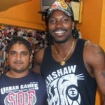Chris Gayle Tattoos