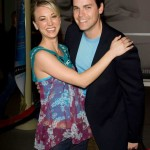 Kaley Cuoco with Jaron Lowenstein