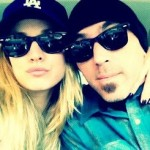 Kaley Cuoco with Josh Resnik