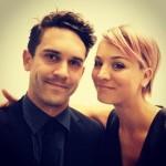 Kaley Cuoco with Ryan Sweeting