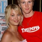Kaley Cuoco with Thad Luckinbill