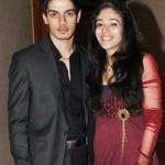 Sooraj Pancholi with his sister Saa Pancholi