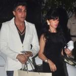 Karim Morani with Zara Morani