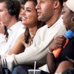 Lara Dutta with Derek Jeter