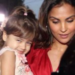Lara-Dutta with her daughter Saira