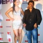 Nathalia Kaur with Ram Gopal Varma