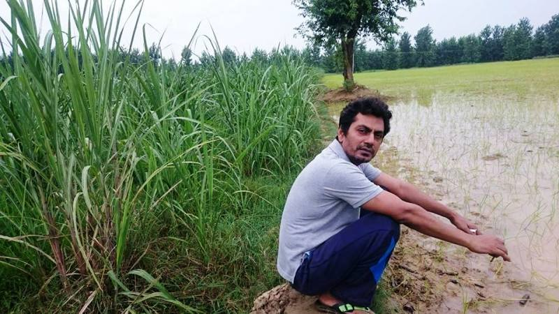 Nawazuddin Siddiqui At His Farm Fields