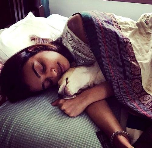 Radhika Apte loves dogs
